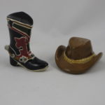 Cowboy boot & hat