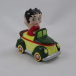 Betty Boop in car