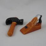 Hammer & wood plane