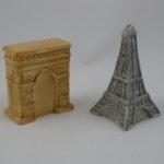 Arc de Triomphe & Eiffel Tower
